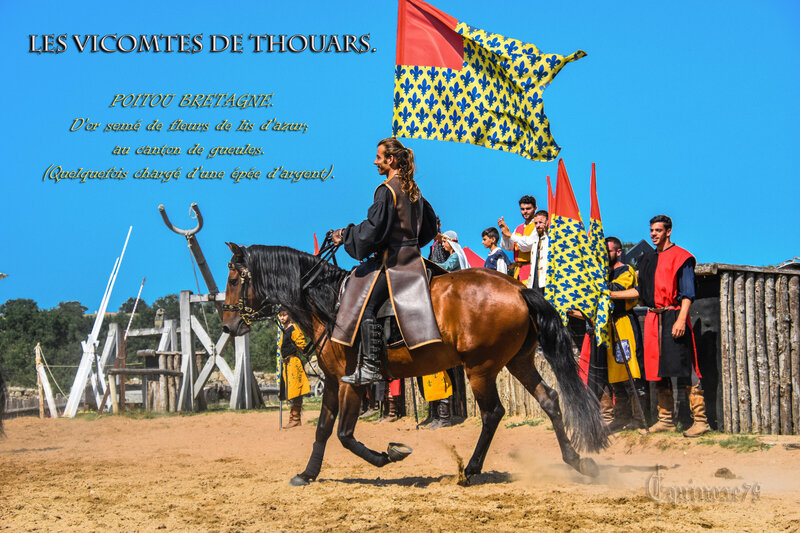 Les Vicomtes de Thouars Poitou Moyen Age (2)