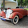 Horch 855 spezialroadster de 1939 (7 ex entre 1935 et 1939)(9ème Classic Gala de Schwetzingen 2011) 01