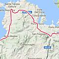Etape 7 : de maddalena à vignola mare (48kms + ferry, 180m+)