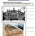 Art visuel : architecture et révolution industrielle