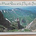 Le Mont Doré 1 - Puy du Sancy - datée 1998