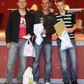 Tableau A Mickaël (3) Julien (1er) Adrien (2)