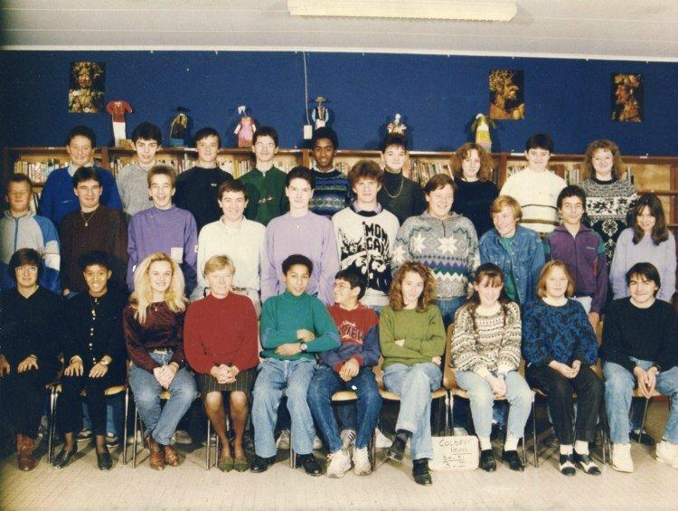 Classe de 3ème 1 - 1991