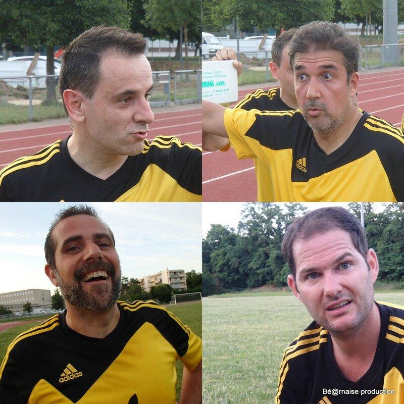 JP, Raymond, Laurent et Will