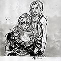 22112015-2012-08-29 - Fan art of Joe Madureira's sketch 3 - Hommage to Michael Turner