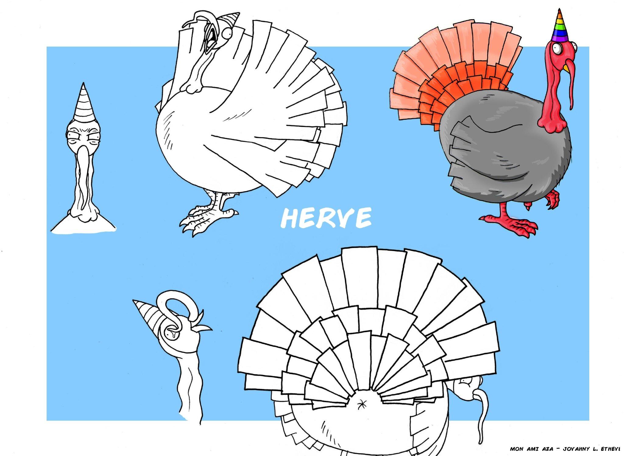 Mon ami Aza - Herve