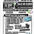 Grand loto action handicap du 25 septembre 2011
