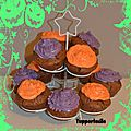 Cupcakes choco-latte (moule silicone)