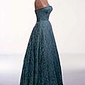 Cristóbal Balenciaga, robe du soir en dentelle de Dognin, 1951