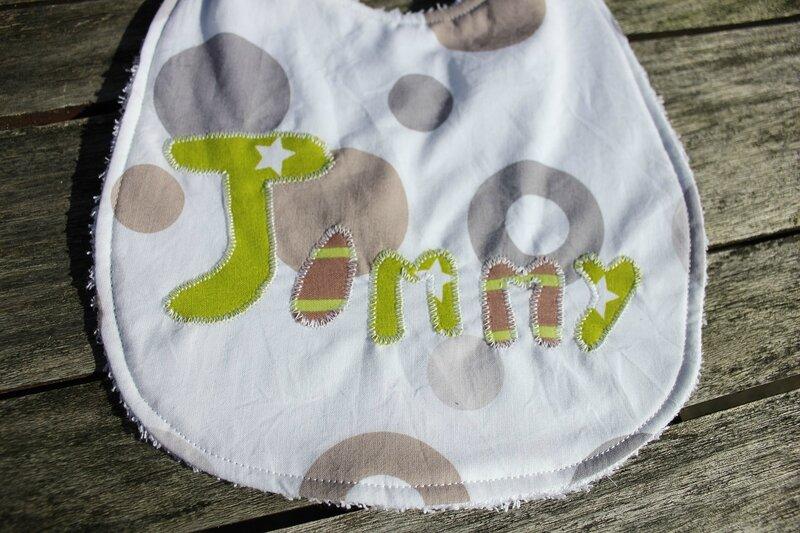 Bavoir Jimmy