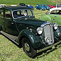 Rover 16 six-light saloon 1937-1940 / 1945-1948