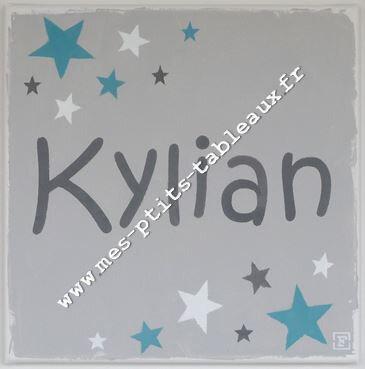 Prénom ciel étoilé - Kylian