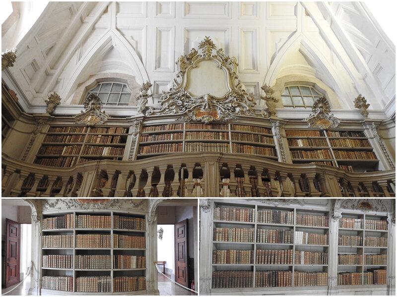 bibliothèque palais Mafra-Portugal 2