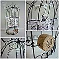 Cages fil de fer et papier 8