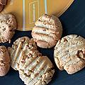 Cookies beurre de cacahuetes