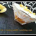 Pommes caramelisée au fromage blanc...