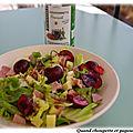 Salade fraîcheur a ma facon