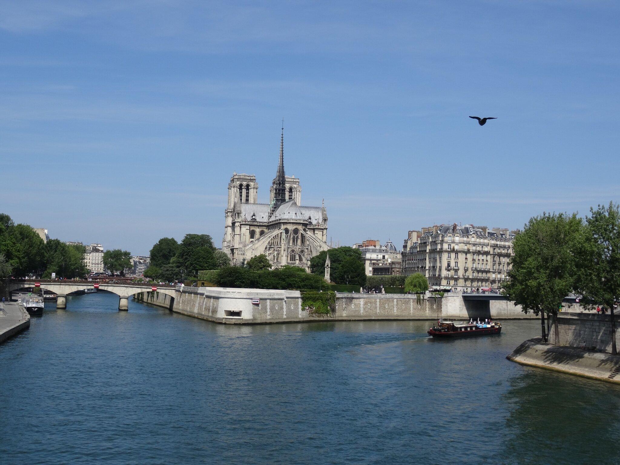 Ile de la cité, Notre Dame de Paris