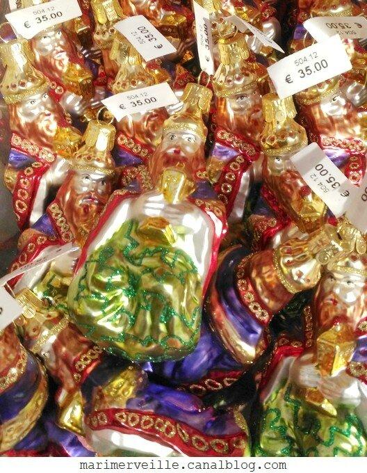 décorations de Noël Monts enneigés23 -le bon marché - marimerveille