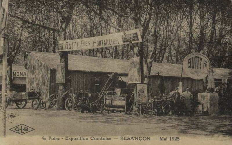 foire expo 1925 2 frères Butty pontarlier