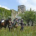 balade à cheval médiévale - Abbaye de Hambye (216)