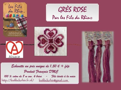CARTE-GRES-ROSE