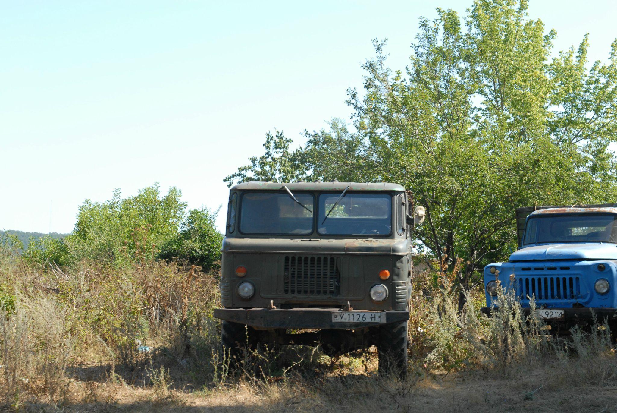 Camion russe en bulgarie