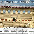Amphithéâtre de saintes - stadium gallo -romain puy du fou