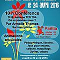 Journée mondiale de l'autisme des trois associations du 22, le 24 avril 2016