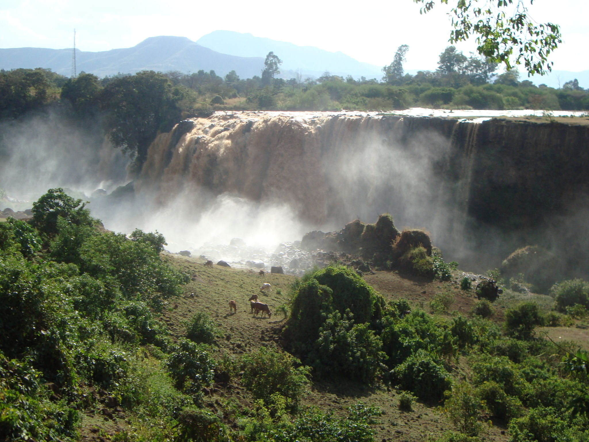 abyss land , falls of blue nile