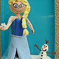 REINE DES NEIGES+OLAF1