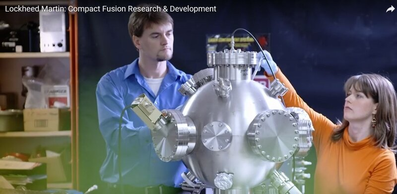 video mini-reacteur a fusion de lockheed martin