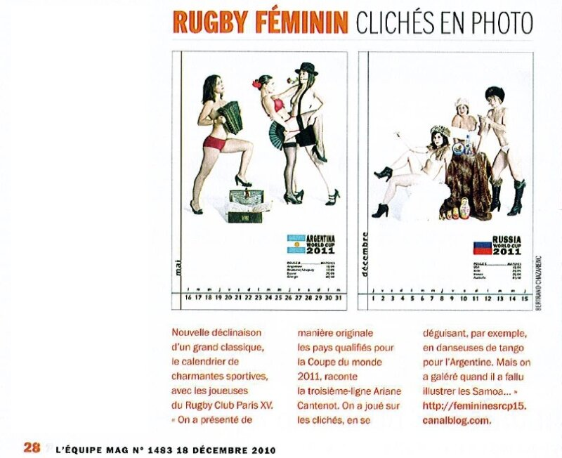 Rugby Mag Décembre 2010