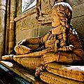 Sous la nef de l'abbaye de Saint-Germain des Prés.