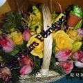 compo en fleurs naturelle pastel