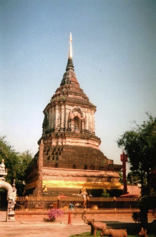 Chiang Maï Wat Lok Moli