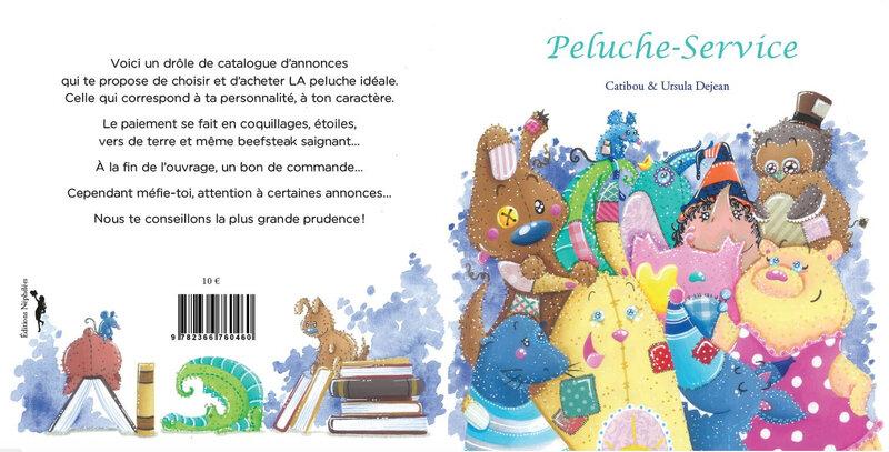 couverture Peluche Service Catibou Ursula Dejean Néphélées