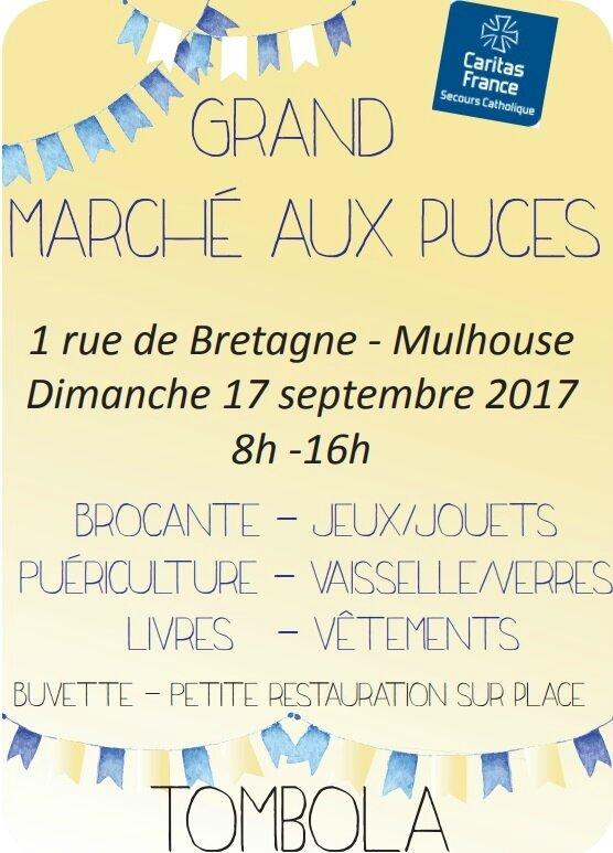 Quartier Drouot - Marché aux puces Caritas