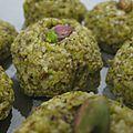 Petits biscuits pistache-amande