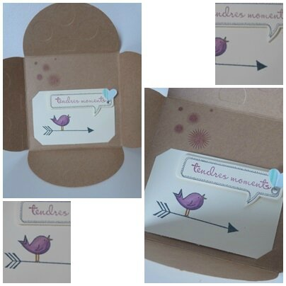 carte cadeau stampin up