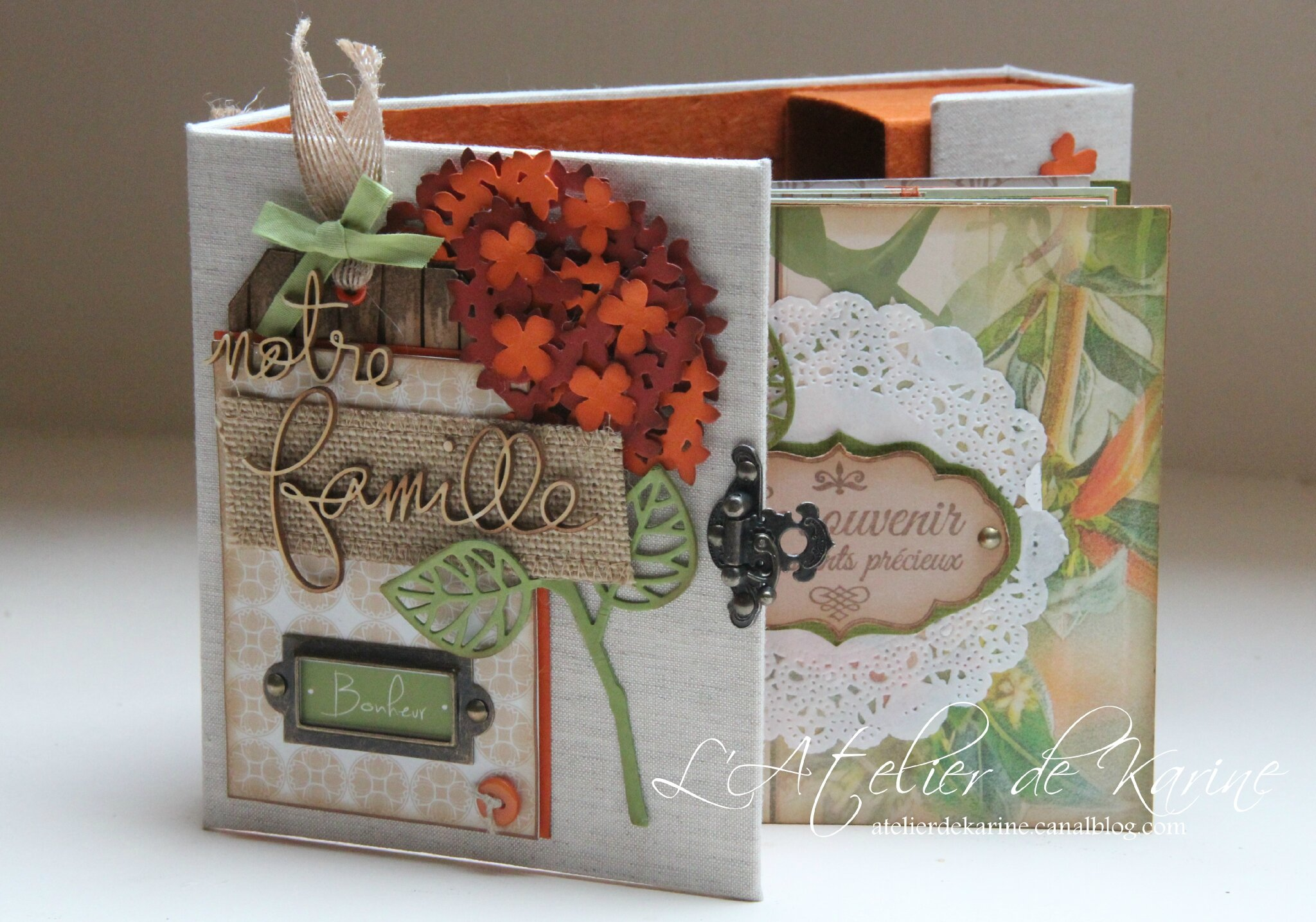 Mini Album et son coffret - Pure Lorelaïl Design 14