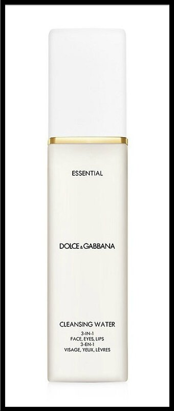dolce & gabbana essential cleansing water