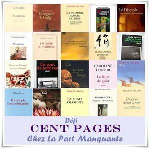 défi 100 pages