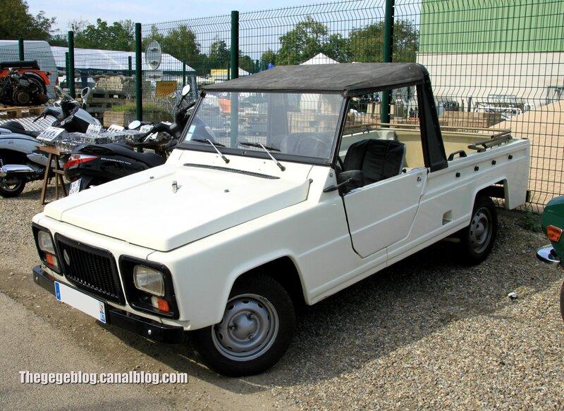 Renault rodeo (32ème Bourse d'échanges de Lipsheim) 01