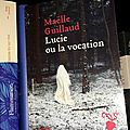 « lucie ou la vocation » de maëlle guillaud