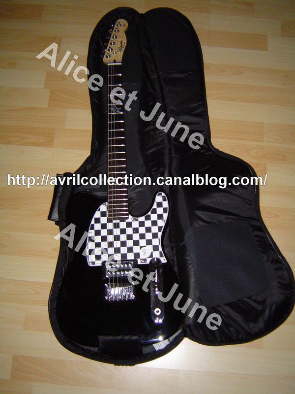 Guitare Avril Lavigne Fender Squier Telecaster
