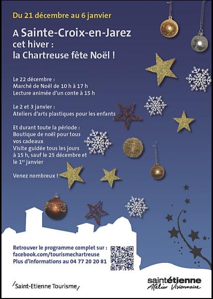SAINTE CROIX EN JAREZ - MARCHE DE NOEL 2013