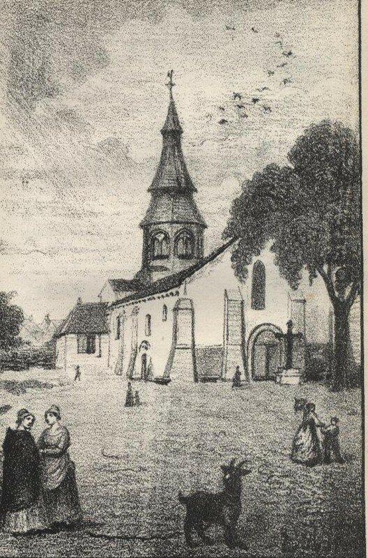 Eglise de Néris (1871)