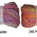 Nouvelle laine, nouvel encours... ou la complainte de la faible tricoteuse !!!