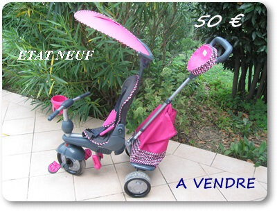 tricycle évolutif